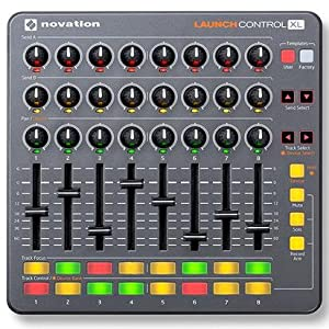 Novation Launch Control XL Ableton Live Controller, Available in Gray