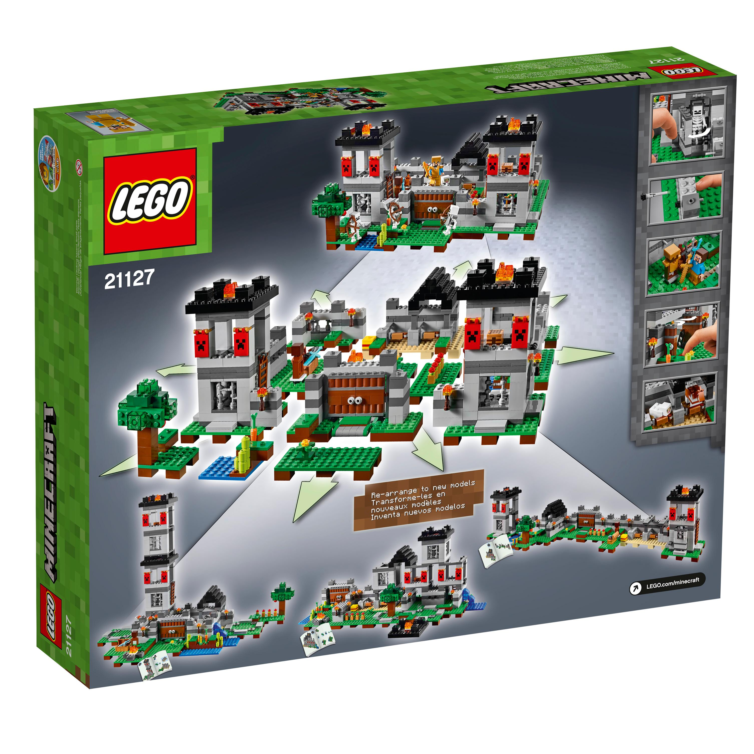 Amazon: Amazon.com: LEGO Minecraft The Fortress 21127: Toys & Games