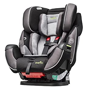 evenflo symphony dlx all in one convertible car seat modesto baby. Black Bedroom Furniture Sets. Home Design Ideas