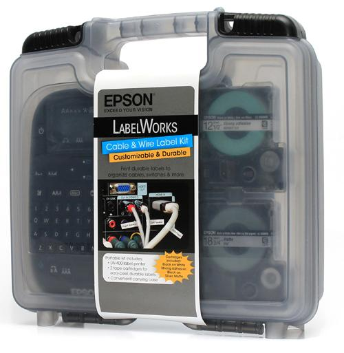 Amazon.com : Epson LabelWorks Cable & Wire Label Kit