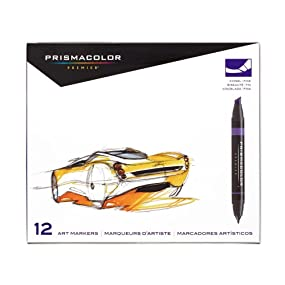 Prismacolor Premier Double-Ended Art Markers - Main Product Image