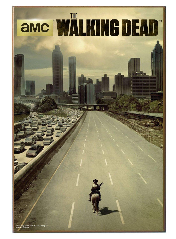 Amazon Com Silver Buffalo Twd0136 13x19 The Walking Dead