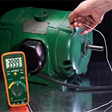 Extech, EX430, multimeter, low current, capability, low current capable, microamperes