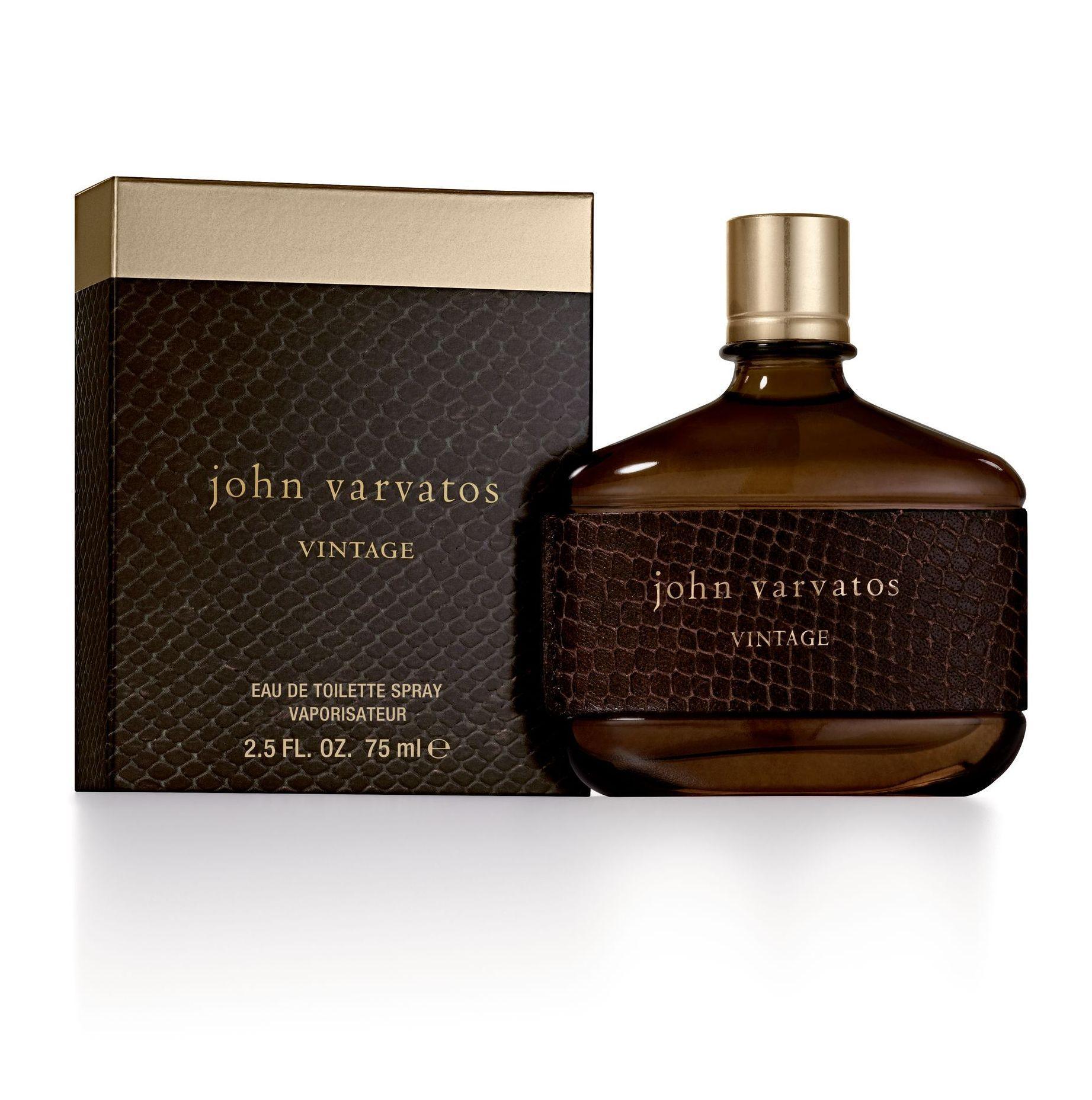 Amazon.com: John Varvatos Vintage Eau de Toilette Spray, 2.5 fl ...