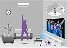 """Superior Short-throw Projection with 100"""" of Big-Screen Enjoyment"""