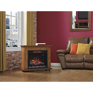 Amazon.com: ClassicFlame 23IRM1500-O107 Rolling Mantel with ...