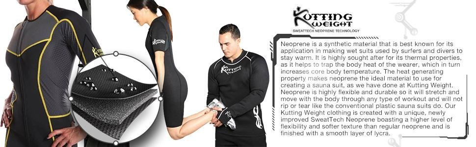 Kutting Weight Sauna Suit Sweat Exercise Gym Suit Fitness Neoprene Men S And Women S For Weight Loss
