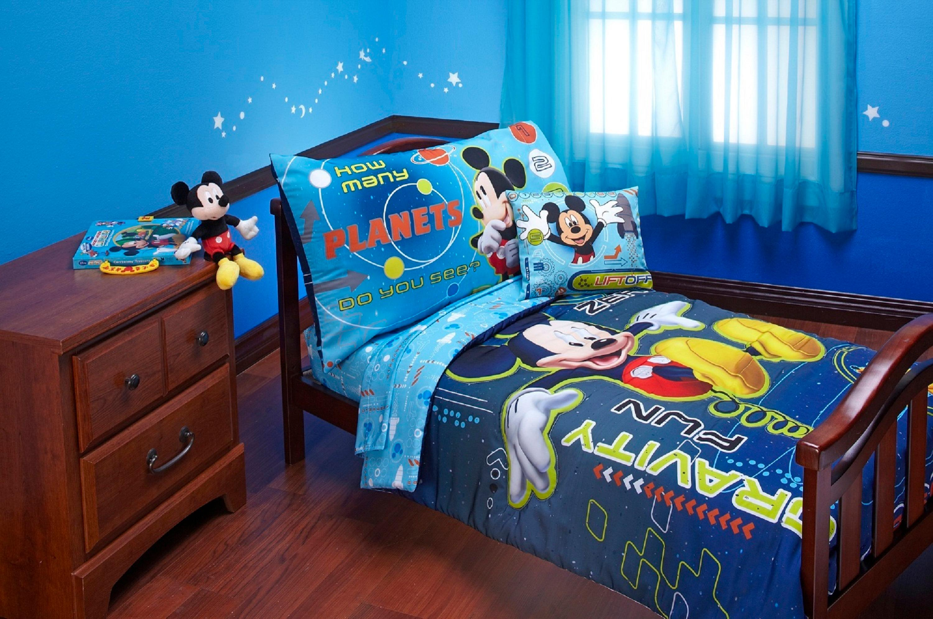 Disney mickey mouse space adventures 4 piece for Kinderzimmer set baby