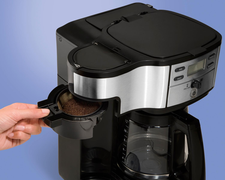 Amazon.com: Hamilton Beach 49980A Coffee Maker, Single ...