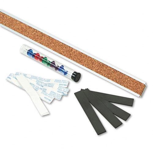 Corkboard tack strip
