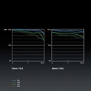 PANASONIC LUMIX H-FSA100300 - MTF CHART