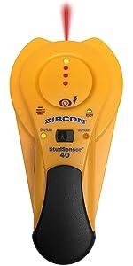 SS40, studscan, stud scan, deep scan, deepscan, studsensor, stud sensor, stud finder, SS 40, Zircon