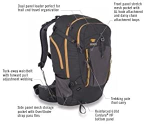 Amazon Com Mountainsmith Approach Backpack Moroccan