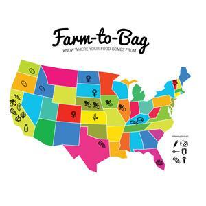 Farm-to-Bag Ingredients Organic Popcorn Farm Farmer non-GMO