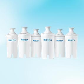 德国Brita碧然德专业净水器滤芯,6件装