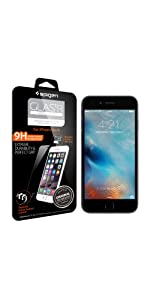 iPhone 6s/6 Glass Screen Protector Spigen Glas tR. Slim