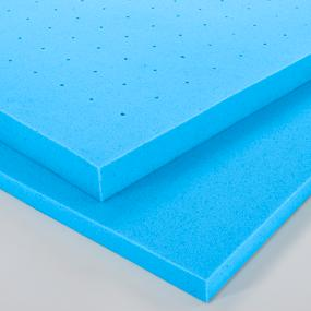 2 inch topper, 3 inch topper, mattress topper, ventilated topper, breathable