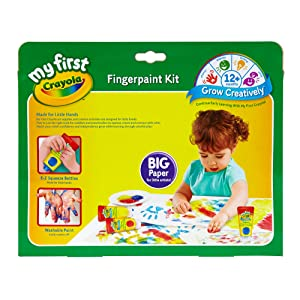 Crayola Fingerpaint box