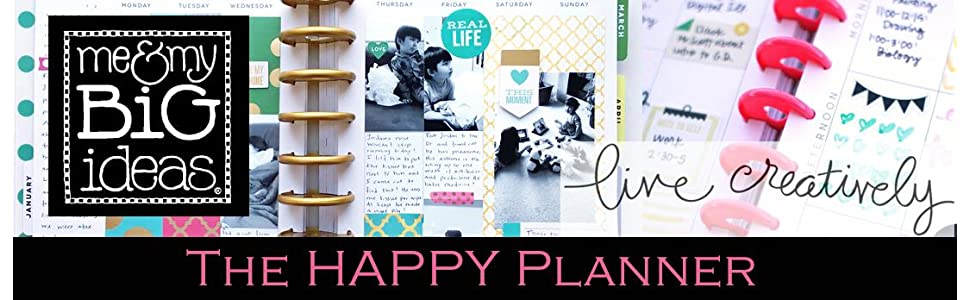 happy planner me and my big idea