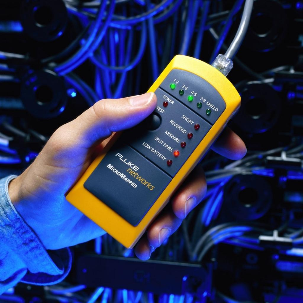 Fluke Networks Mt 8200 49a Cable Tester Network Cable