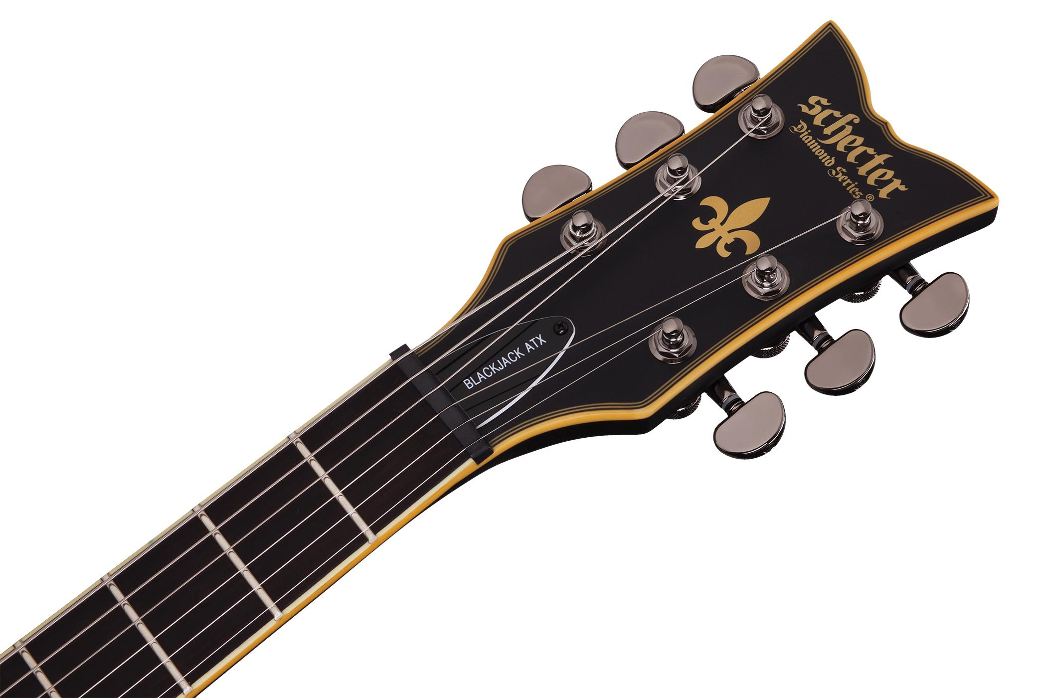 schecter 392 blackjack atx c 7 absn electric guitars musical instruments. Black Bedroom Furniture Sets. Home Design Ideas