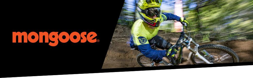 Mongoose Mountain Biking brand banner