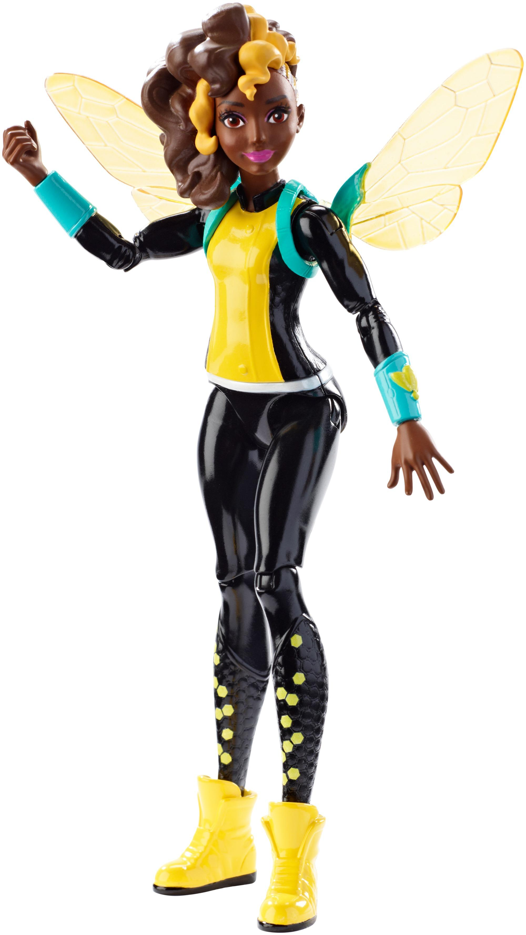 Girl Toy Figures : Amazon dc super hero girls bumble bee quot action