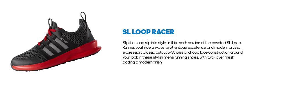 huge selection of f448e ebe5e Amazon.com   adidas Originals Men s SL Loop Lifestyle Racer Sneaker ...