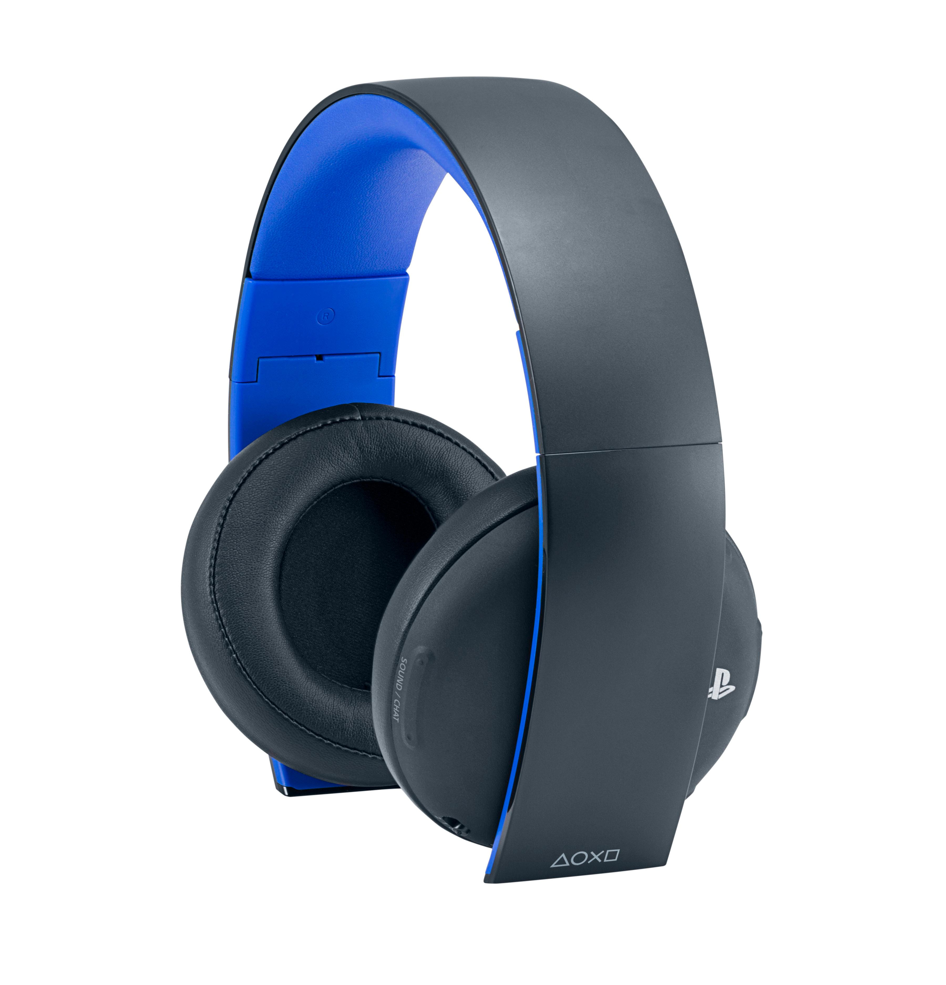playstation 4 gold wireless stereo headset gold wireless headset edition computer. Black Bedroom Furniture Sets. Home Design Ideas