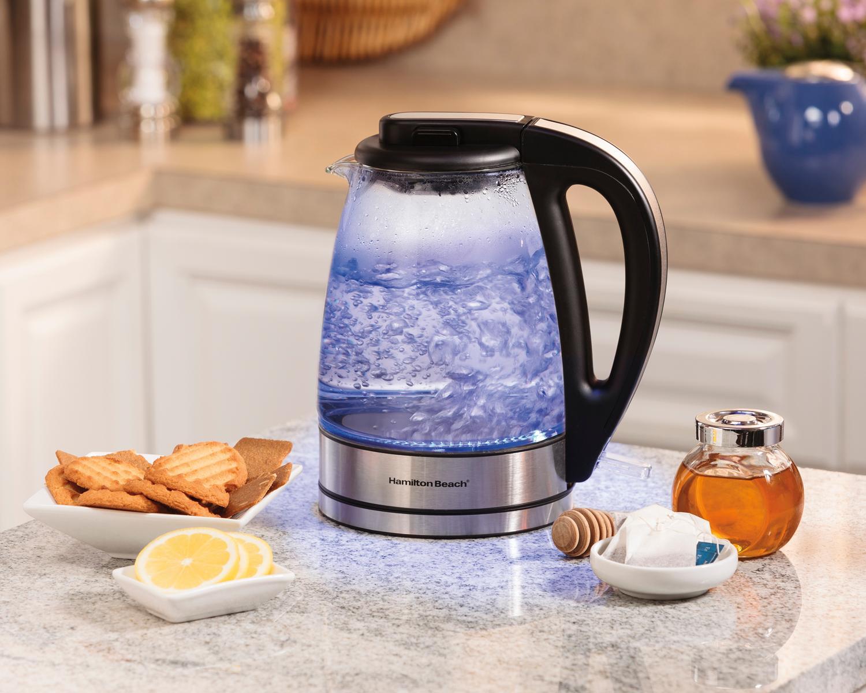 Best Electric Hot Water Kettle ~ Amazon hamilton beach glass electric kettle
