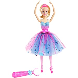 Amazon.com: Barbie Dance & Spin Ballerina Doll: Toys & Games