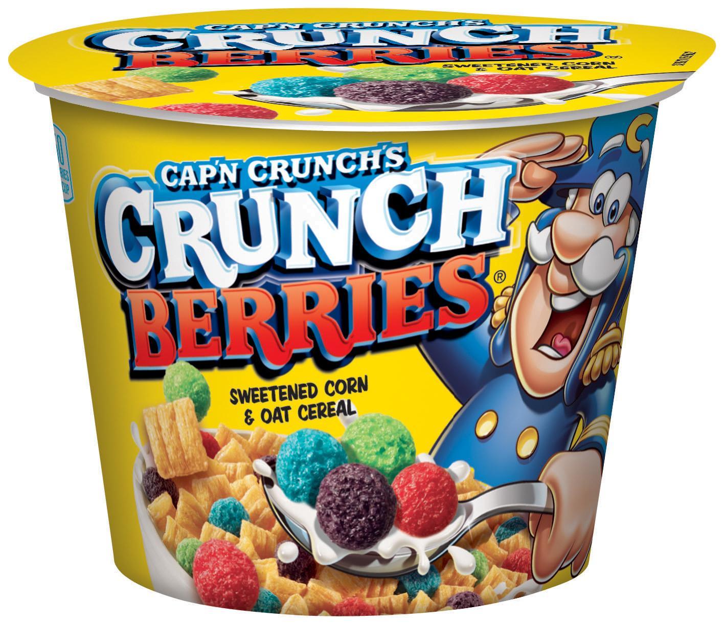 Amazon.com: Cap'n Crunch Breakfast Cereal, Crunch Berries