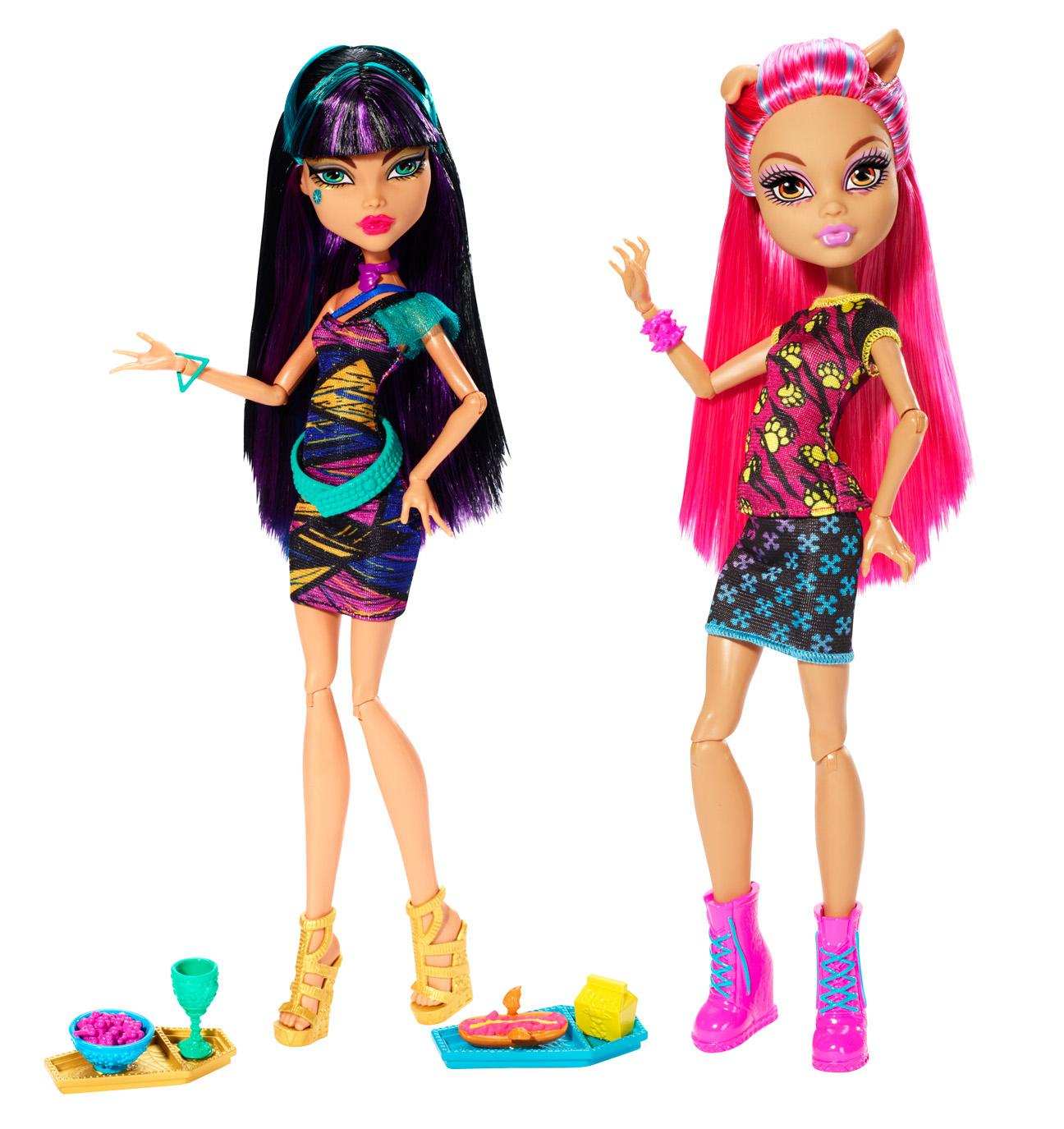 Monster High Toys : Amazon monster high creepteria with cleo de nile and