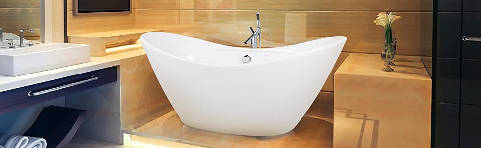 Exceptionnel Bathroom, Freestanding Bath Tub, Bathtubs, Soaking Tub, Tubs, Oval, White