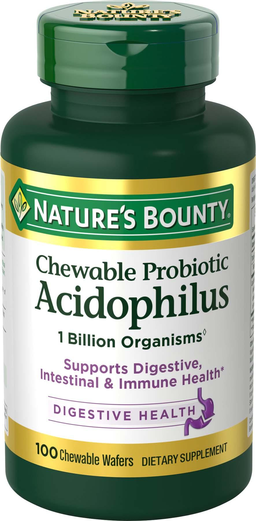 Nature S Bounty Chewable Probiotic Acidophilus Reviews