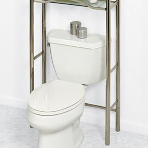 3 tempered glass shelves - Bathroom Cabinets That Fit Over The Toilet