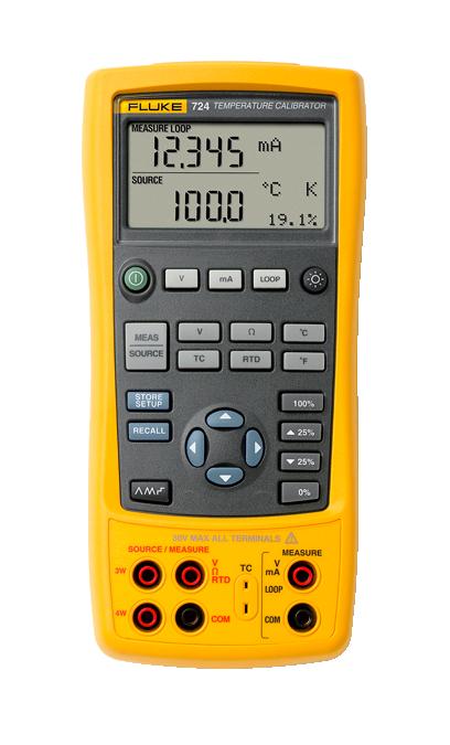 Fluke 724 Temperature Calibrator Temperature Sensors