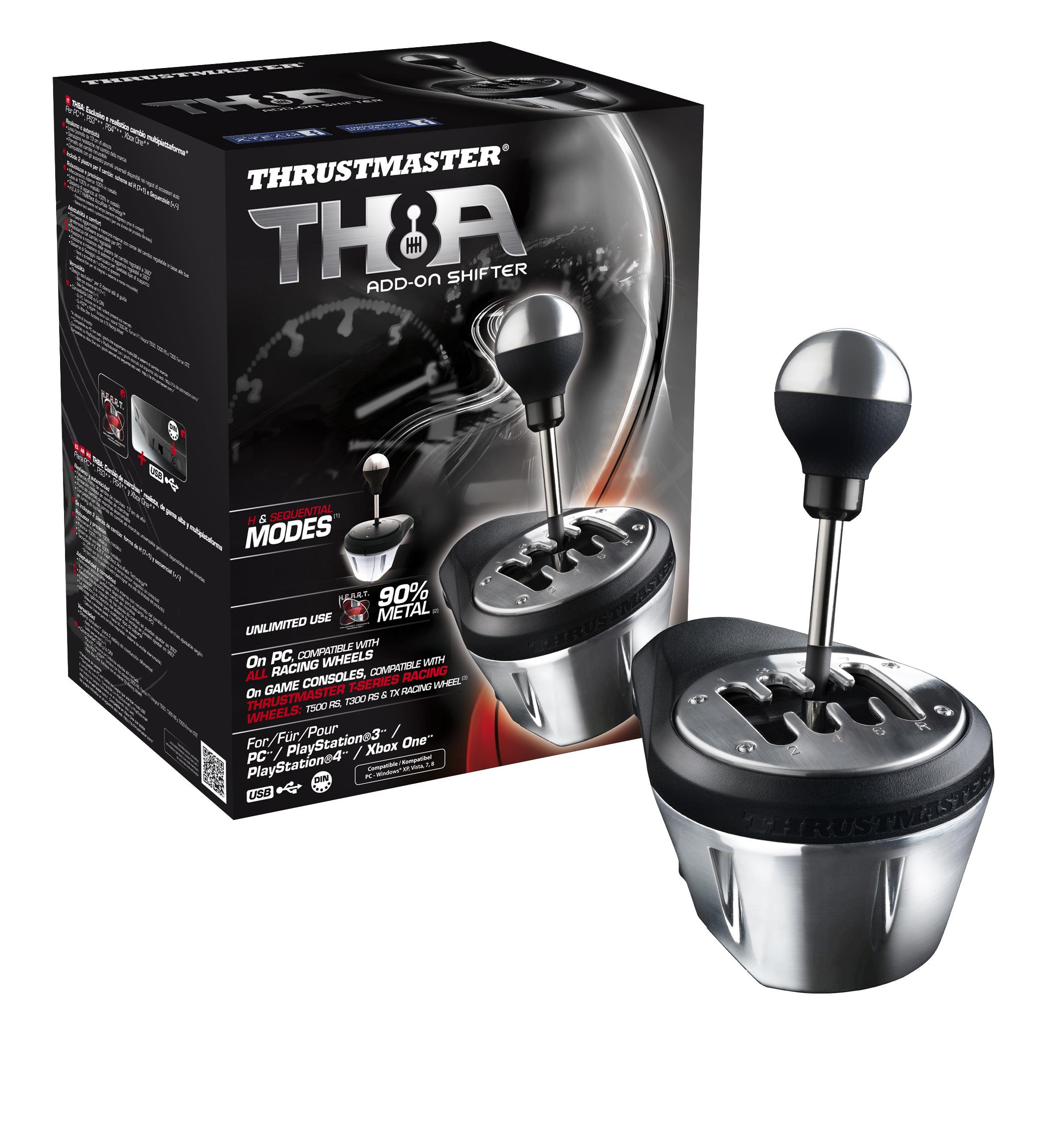 Amazon Com Thrustmaster Th8a Add On Gearbox Shifter For