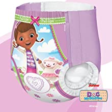 In search for potty training tips for girls? Enjoy quick and easy changes with Pull-Ups.