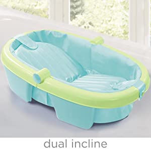 summer infant fold away baby bath baby bathing seats and tubs. Black Bedroom Furniture Sets. Home Design Ideas
