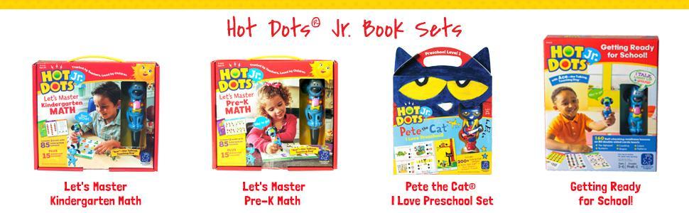 Amazon.com : Educational Insights Hot Dots Jr. Let's Master ...
