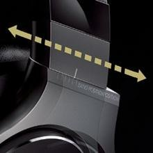 Custom fit headphones, sliding fit