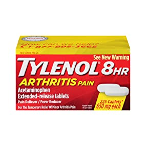 Tylenol 8hr Arthritis Pain Extended Release Caplets