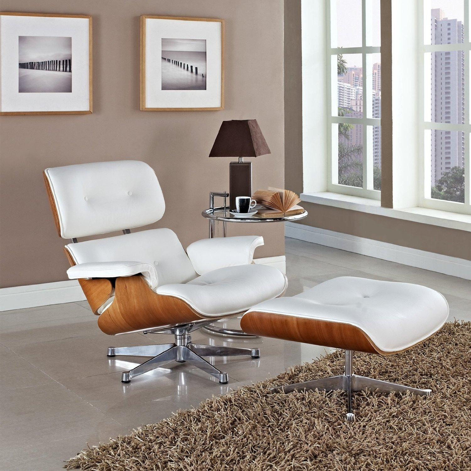 Eames molded plywood chair living room - View Larger