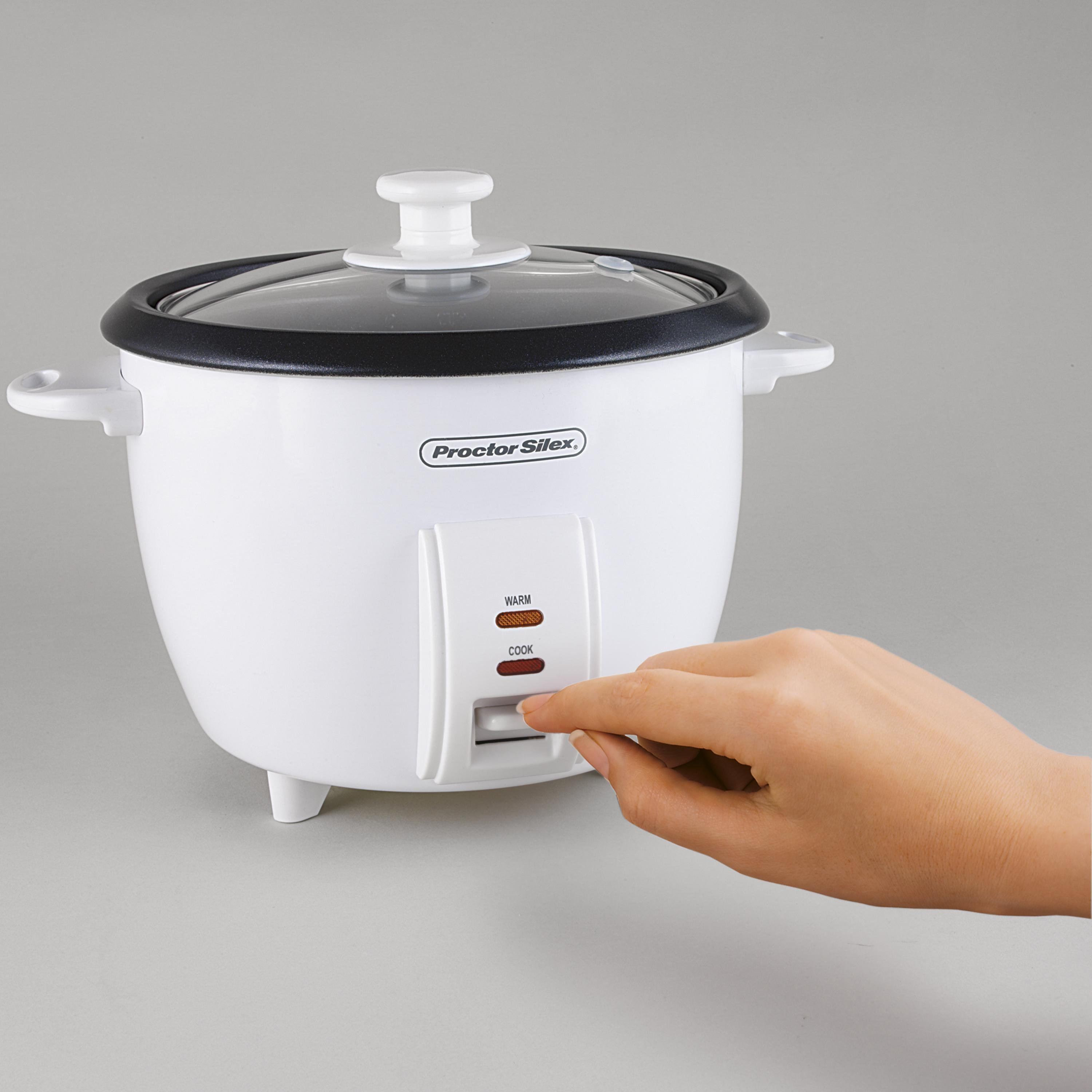 Amazon.com: Proctor Silex (37534NR) Rice Cooker 4 Cups