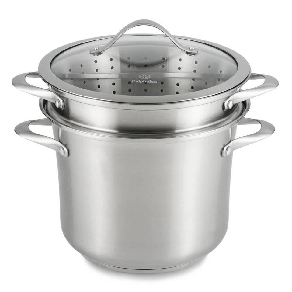 Amazon Com Calphalon Contemporary Stainless 8 Quart Pot