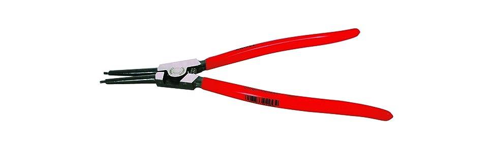 Circlip Pliers 5 Pce Set 160mm Internal External Straight 45 90 Degree