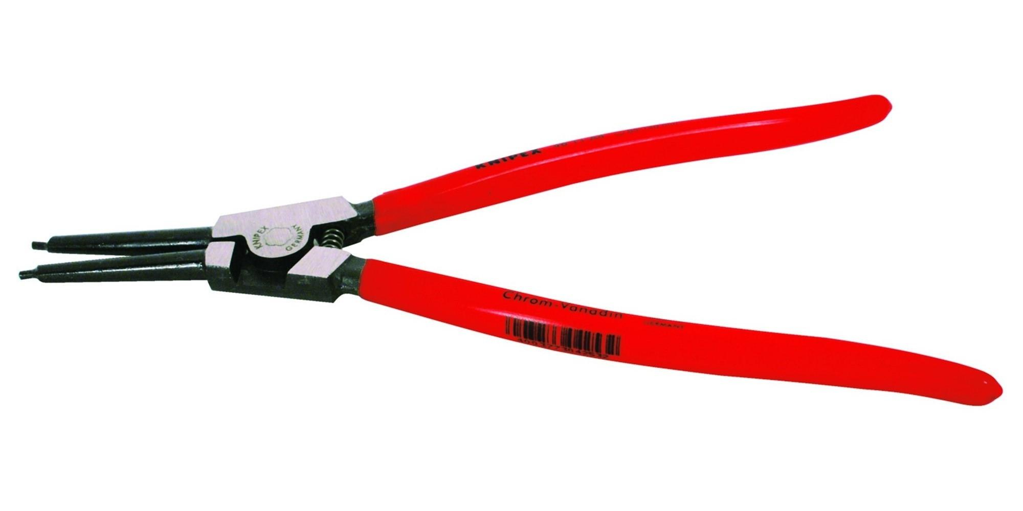 knipex 4611a4sba external straight retaining ring pliers. Black Bedroom Furniture Sets. Home Design Ideas