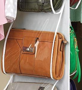 dust bags for handbags,handbag holder,closet purse organizer,purse storage,handbag organizer,purse