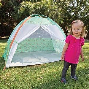 kids, tent, cabana